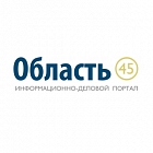 Banner on the web portal of the Region 45 Kurgan