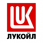 "Advertising at the gas station ""LUKOIL"""
