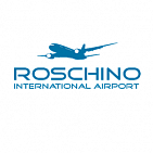 "Advertising at the airport ""ROSHCHINO"""